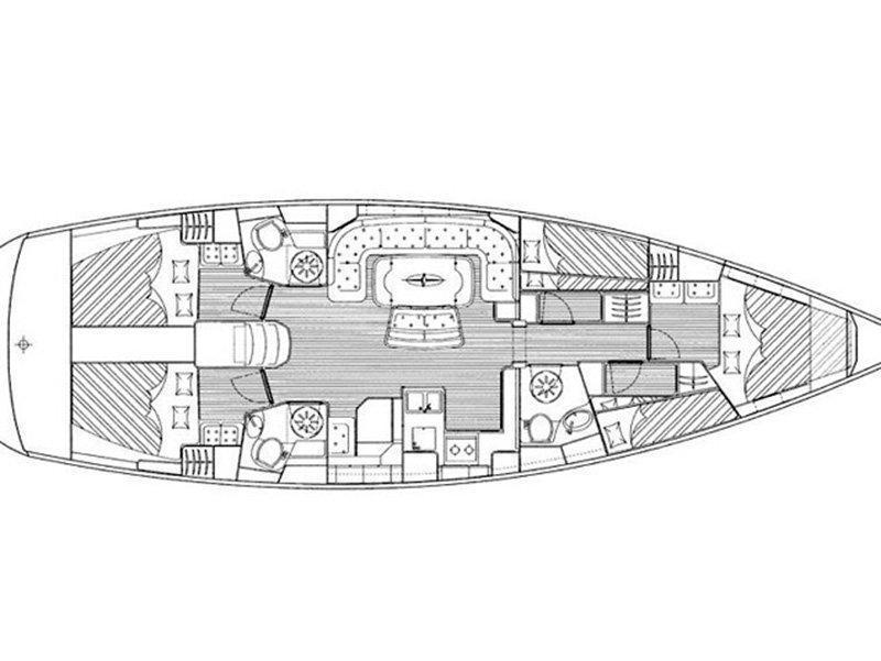 Bavaria 50 Cruiser (Agamemnon) Plan image - 8