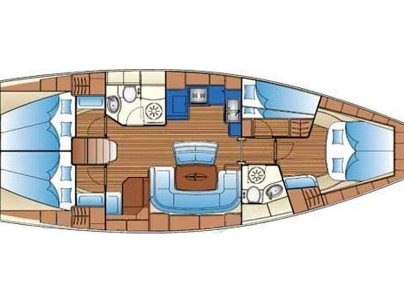 Bavaria 46 Cruiser (Aiolos) Plan image - 9