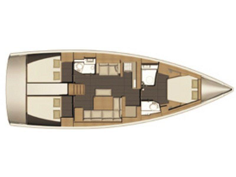 Dufour 460 Grand Large (BELLATRIX) Plan image - 7