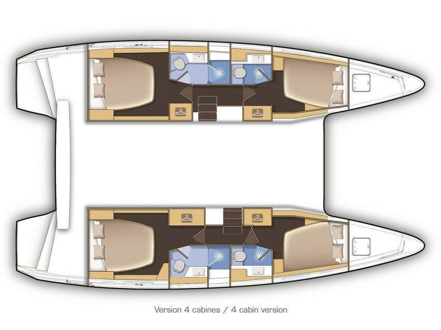 Lagoon 42 (GALAPAGOS) Plan image - 19