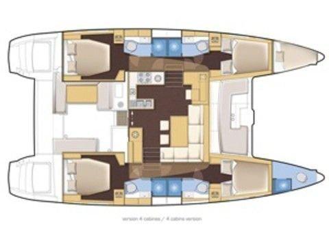 Lagoon 450 (MADAGASCAR) Plan image - 20