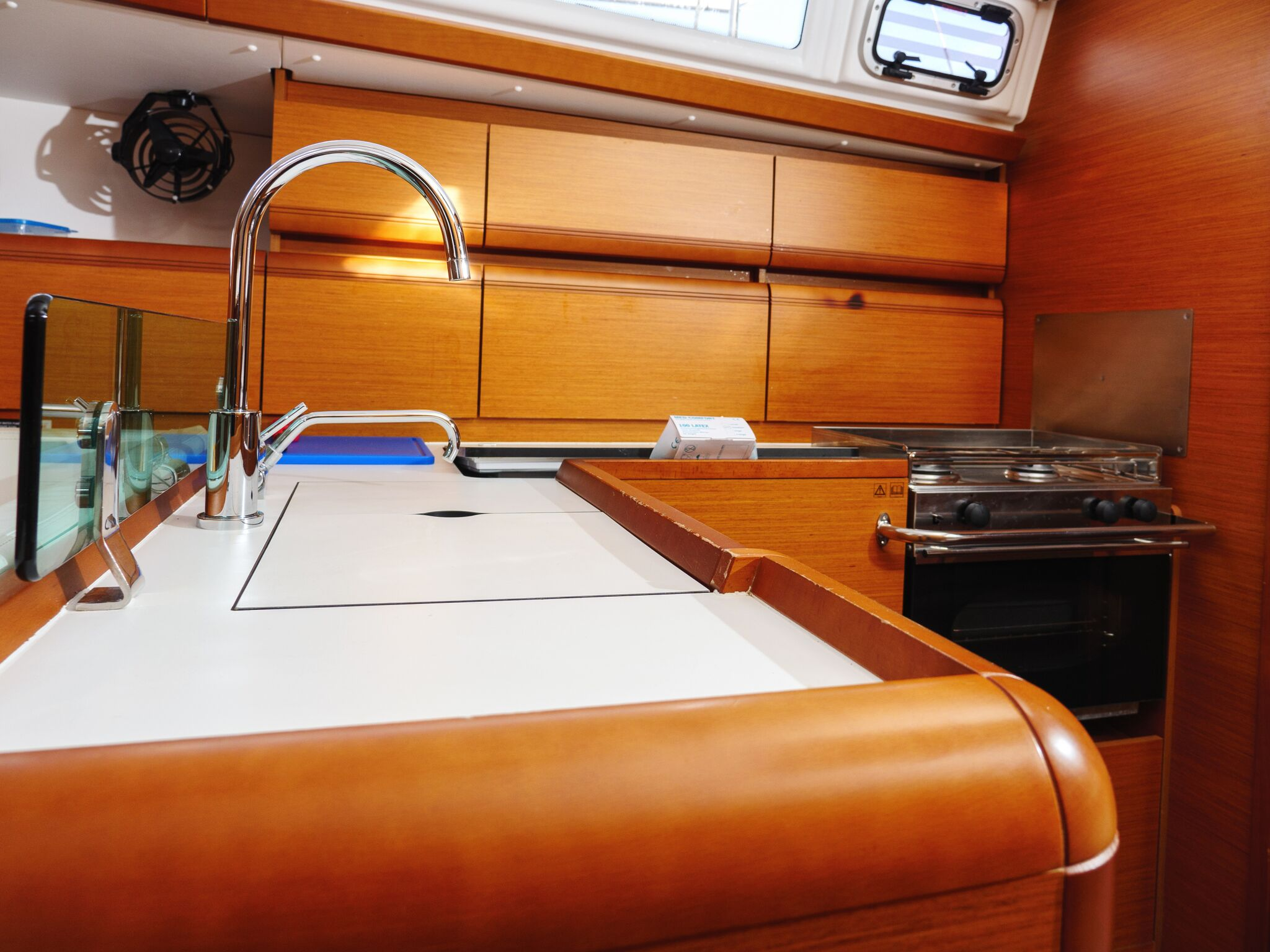 Sun Odyssey 449 (Port Royal) Interior - kitchen (photo taken 2019) - 2