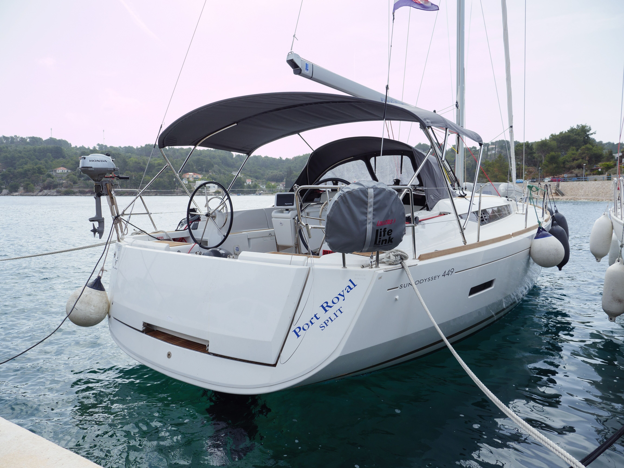Sun Odyssey 449 (Port Royal) Main image - 0