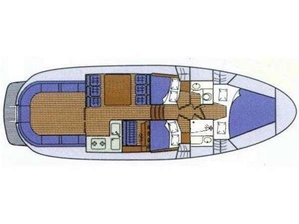 Adria 1002 (Kornati) Plan image - 4
