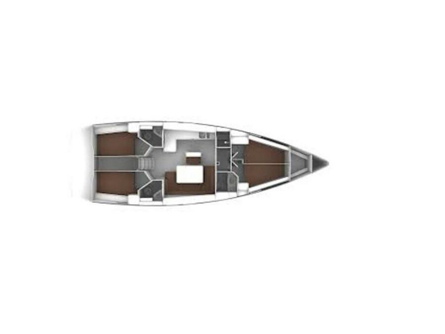 Bavaria Cruiser 46  (Punta Molentis) Plan image - 6