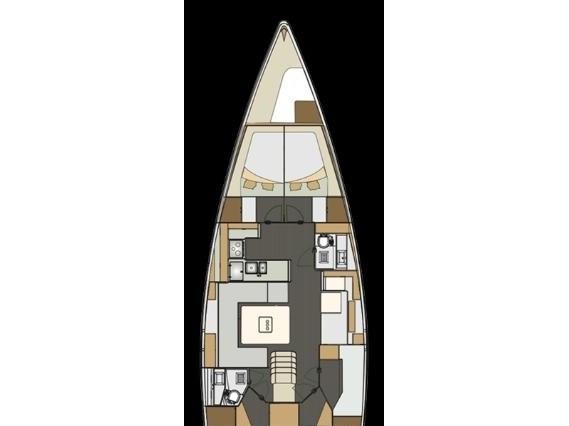 Elan 50 Impression (Vuschi) Plan image - 13