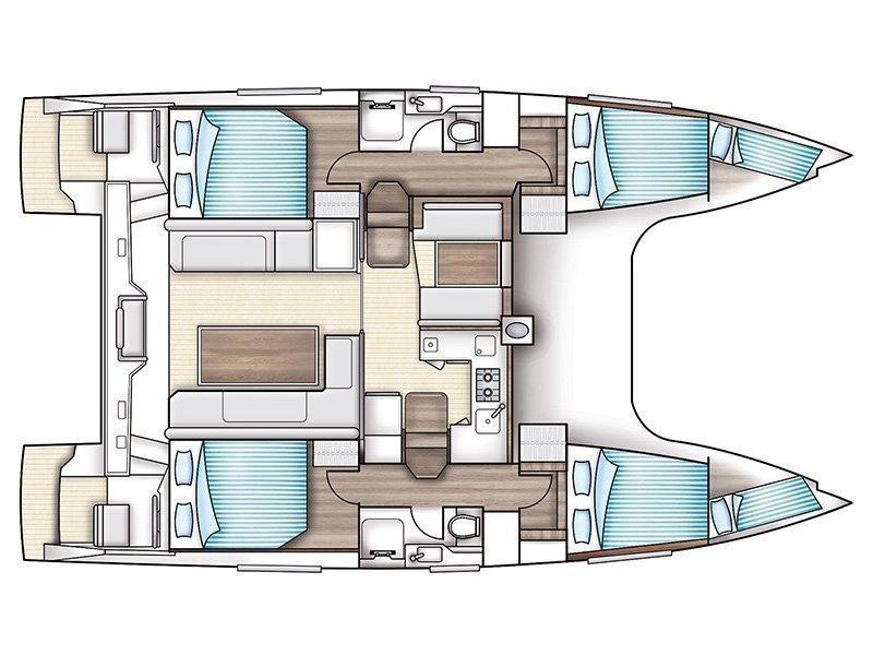 Nautitech Open 40 (Midas) Plan image - 1