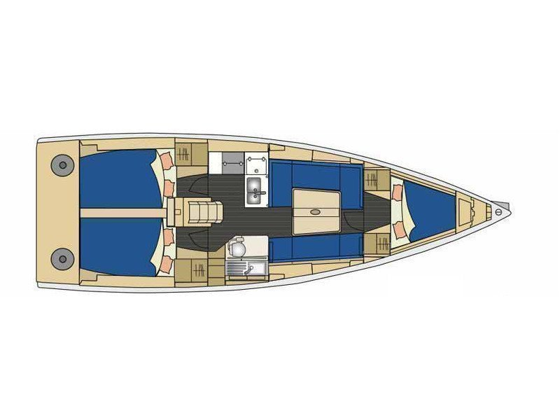 Elan 350 (Whiskey) Plan image - 2