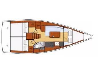 Oceanis 35.1 (New) Plan image - 5