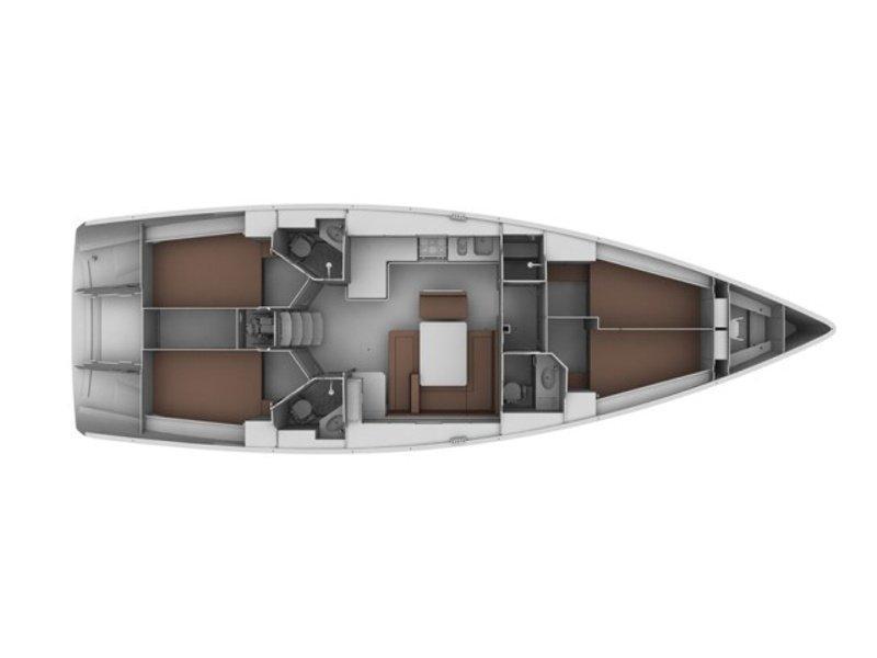 BAVARIA C 46 BT (ALESSANDRA) Plan image - 8