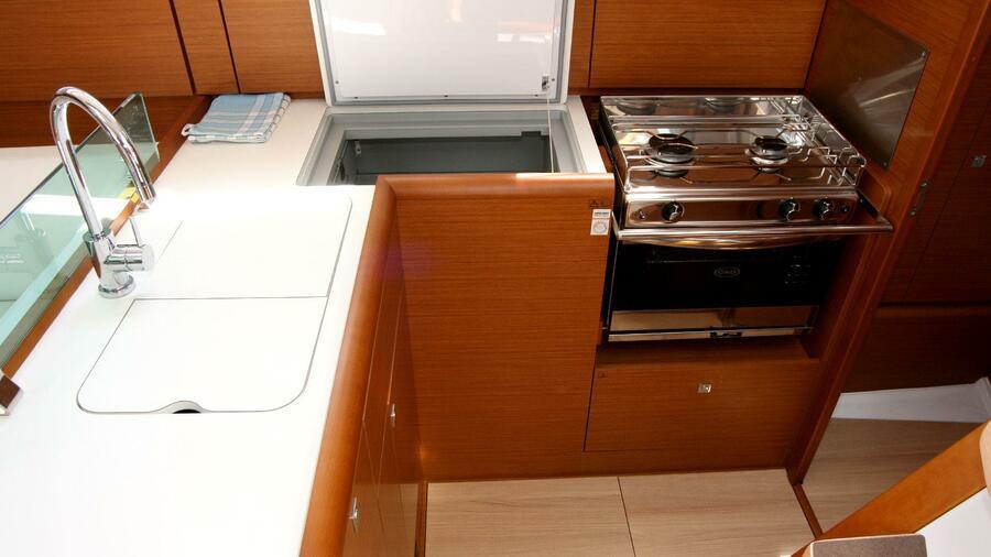 Sun Odyssey 389 (Tina) Küche - 4