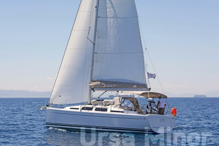 Hanse 345 (Ursa Minor)  - 13