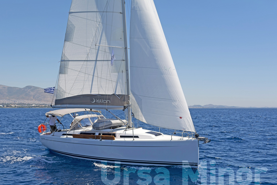 Hanse 345 (Ursa Minor)  - 12