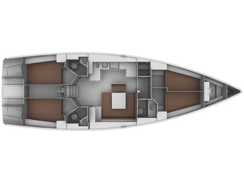 Bavaria 45 (B 45) Plan image - 2