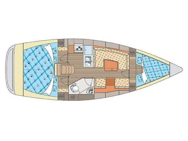 Elan 344 Impression (Sailway Cinco) Plan image - 5