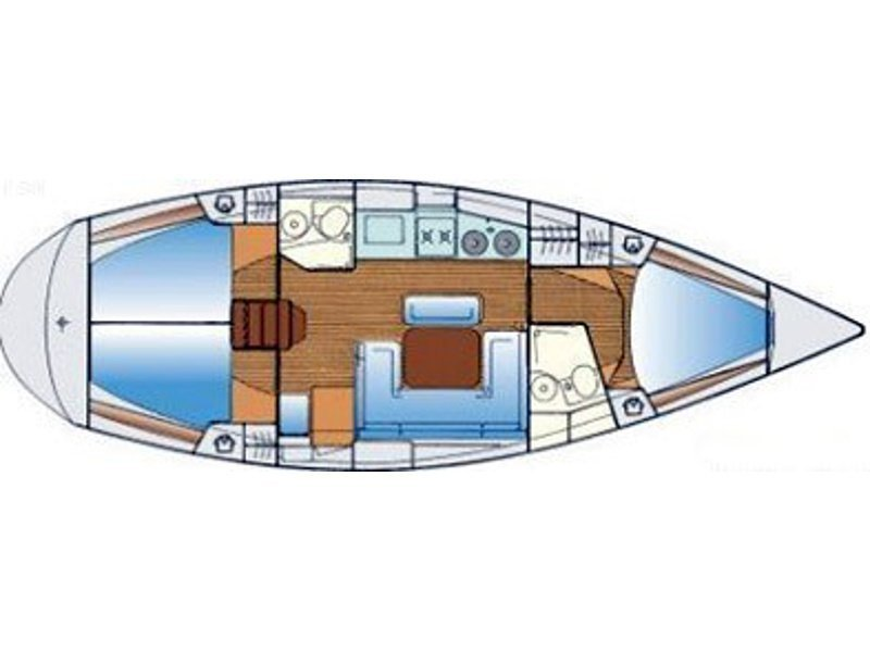 Bavaria 38 (Pillabans) Plan image - 7