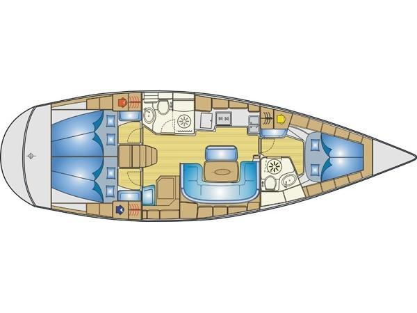 Bavaria 42 (Andiamo) Plan image - 6