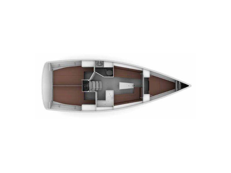 Bavaria Cruiser 34 (LADY ONE) Plan image - 2