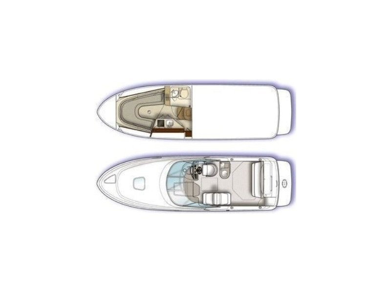 Sea Ray 275 Amberjack (1000 VD) Plan image - 9