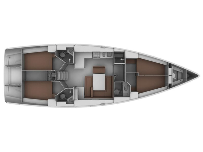 Bavaria 45 Cruiser (Kristina of Sweden) Plan image - 20