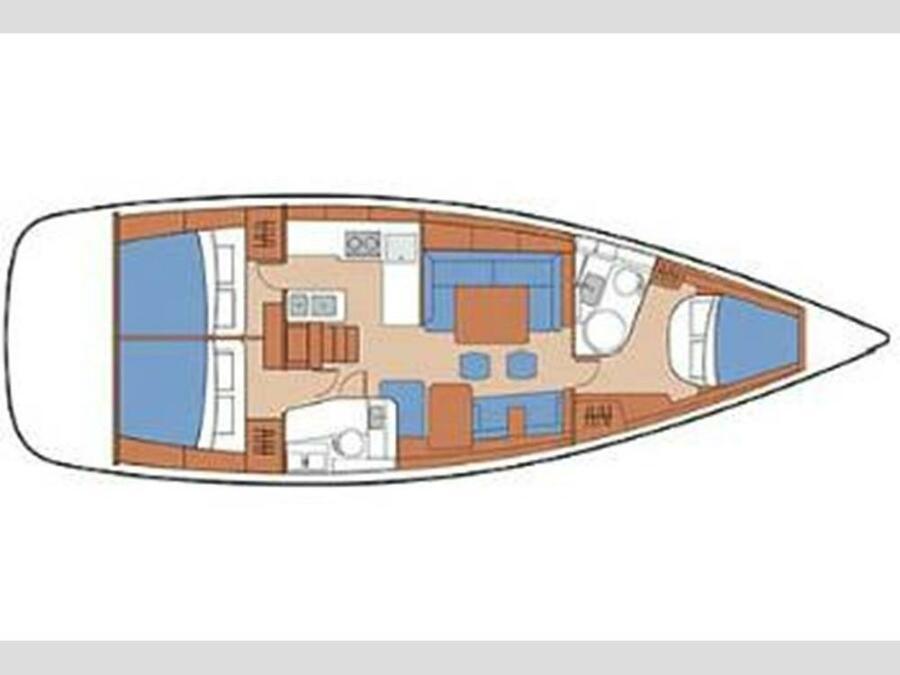 Oceanis 46 (STRIE) Plan image - 5