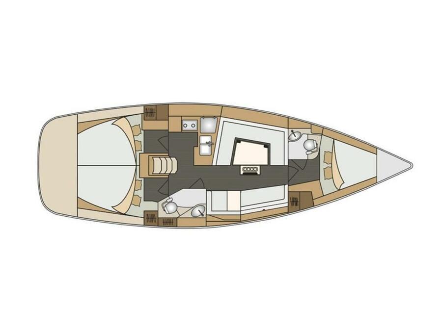 Elan 40 Impression (BLU) Plan image - 2
