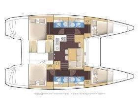 Lagoon 39 (Yesss) Plan image - 5