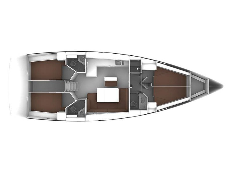 Bavaria 46 Cruiser (Ioli) Plan image - 2