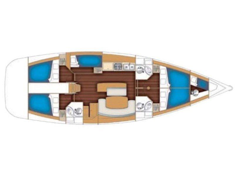 Cyclades 50.5 (Elios) Plan image - 6