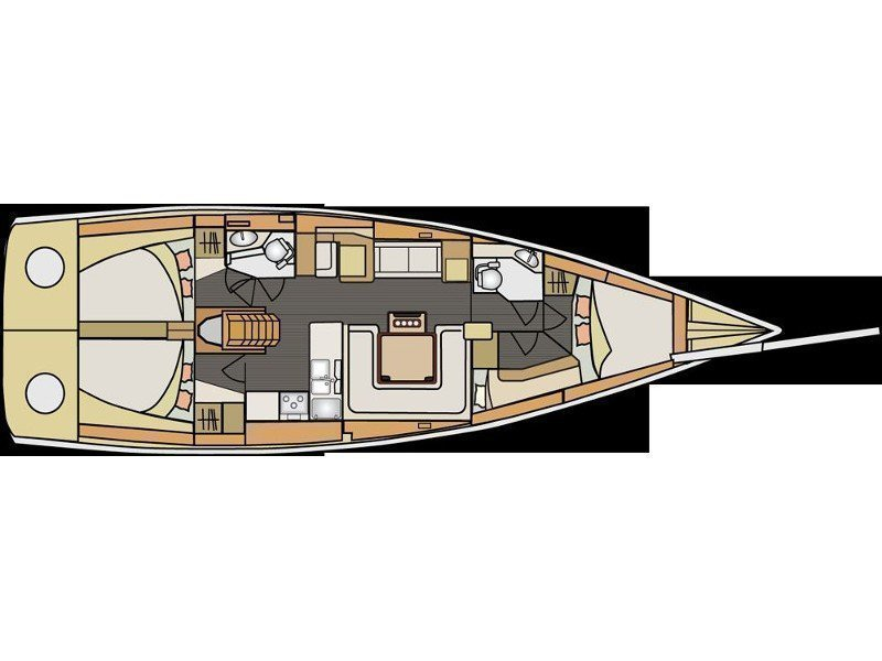 Elan 450 (Septima Vector) Plan image - 8