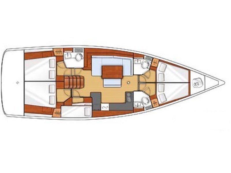 Oceanis 48 (Khloe) Plan image - 3