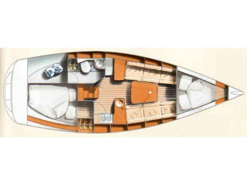Hanse 311 (Stine) Plan image - 2