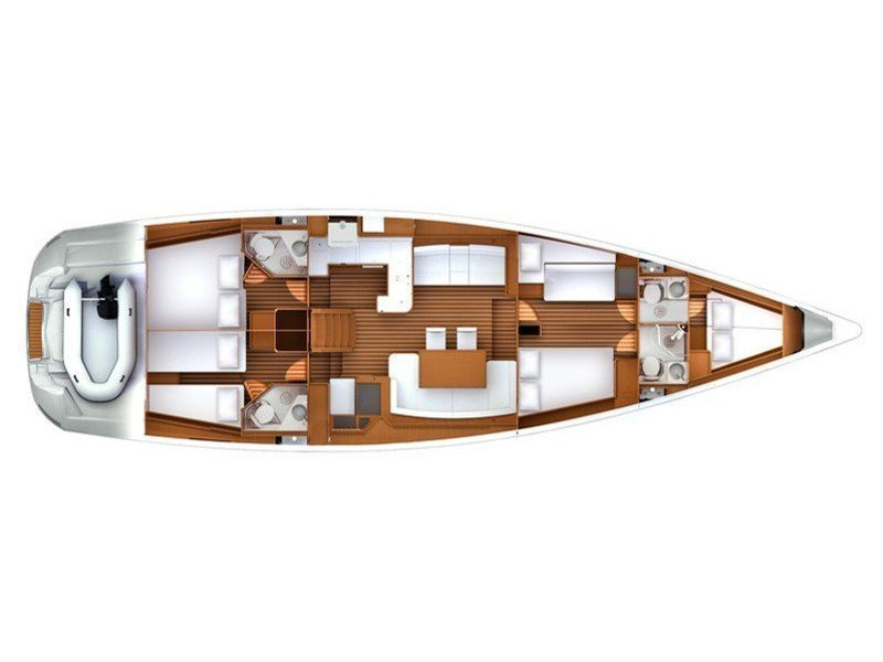 Jeanneau 57 (Summerdream) Plan image - 17