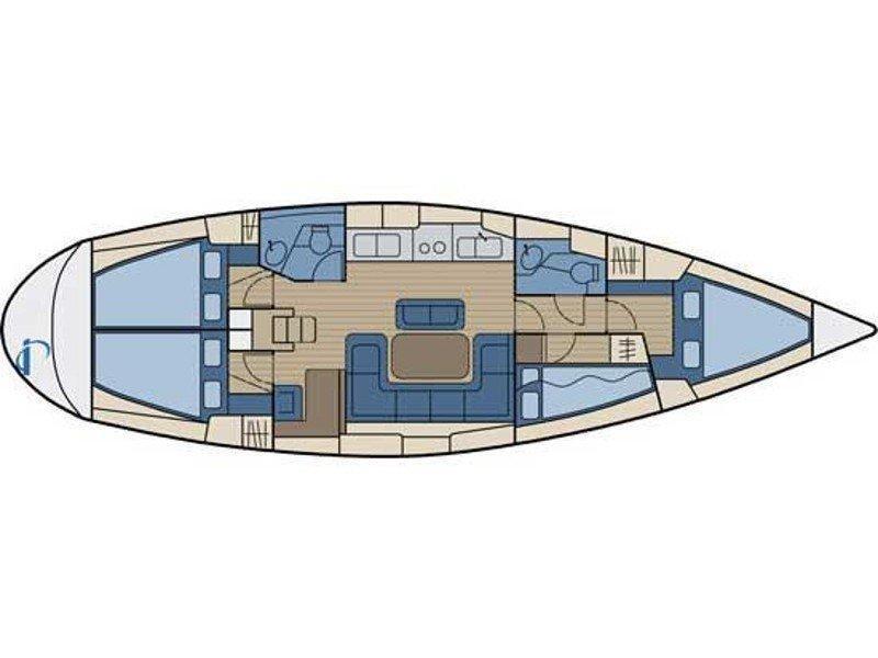 Bavaria 42 (Mauritius) Plan image - 10