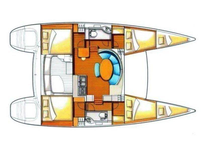 Lagoon 380 S2 (AIR) Plan image - 1