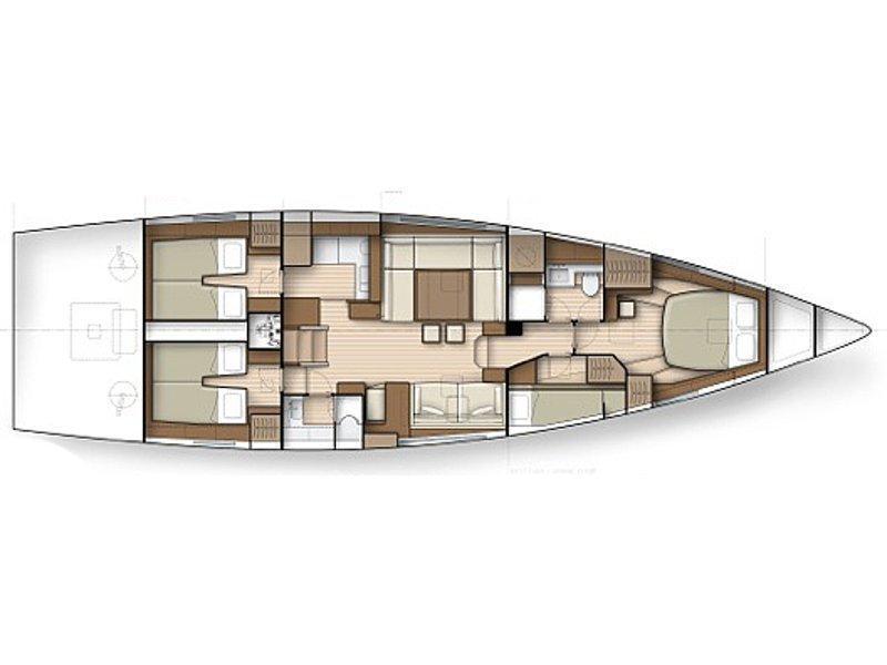 Shipman 50 (Saint Maxime) Plan image - 14
