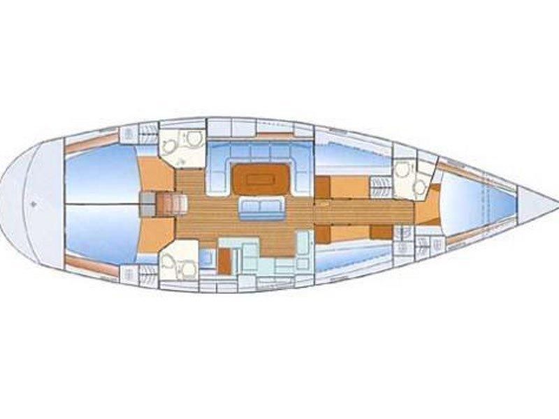 Bavaria 50 (AYC) Plan image - 2