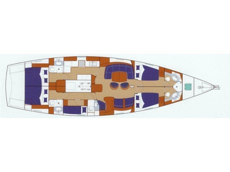 Beneteau 57 (Sea Star II) Plan image - 5
