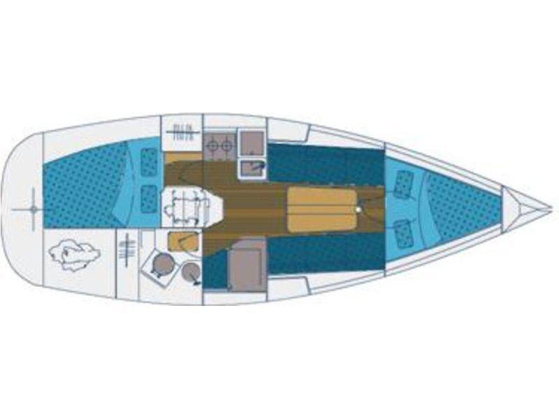 Elan 31 Performance (Sailway Tres) Plan image - 4