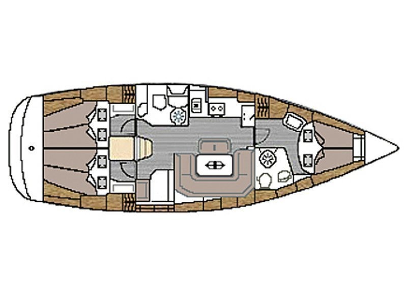 Bavaria 39 Cruiser (RO-LU) Plan image - 6