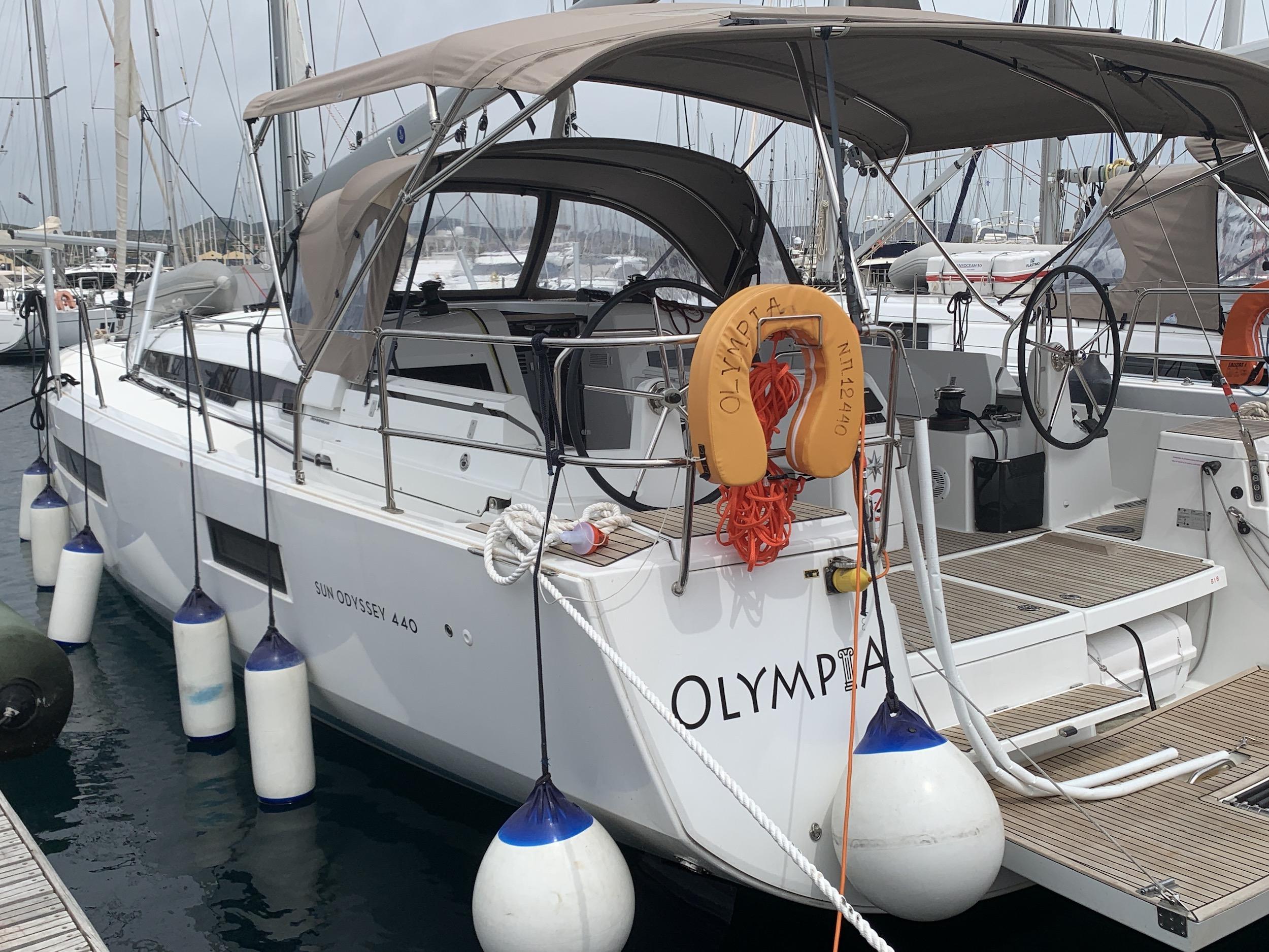 Sun Odyssey 440 (Olympia)  - 9