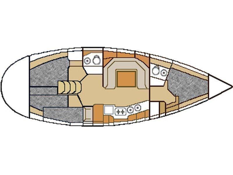Elan 38 (ZAGLAV ) Plan image - 7