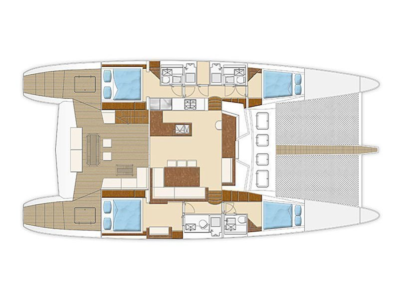 Sunreef 62 (Depende IV) Plan image - 4