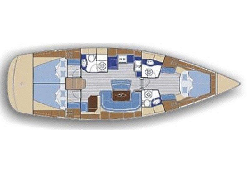 Bavaria 46 Cruiser (VIYA) Plan image - 4