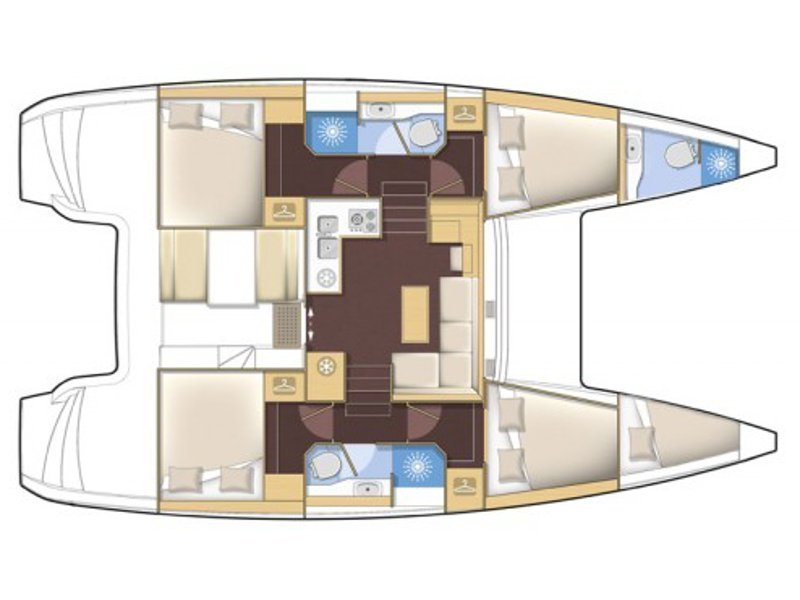 Lagoon 39 (U2) Plan image - 1