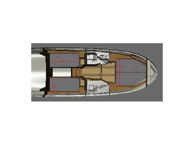 Platinum 989 (Platinum 989 Flybridge) Plan image - 7