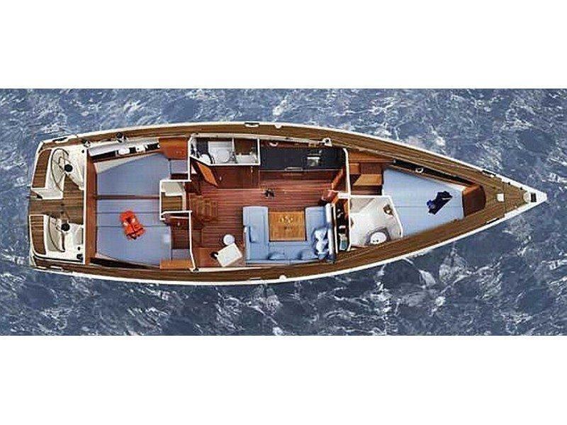 Bavaria 43 Cruiser (EC- 43B-09-G) Plan image - 2