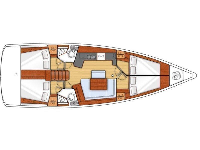 Oceanis 45 (EC- O45-13-G) Plan image - 2