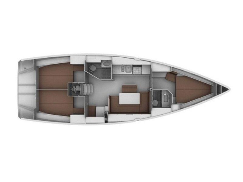 Bavaria 40 Cruiser (Ersi) Plan image - 1