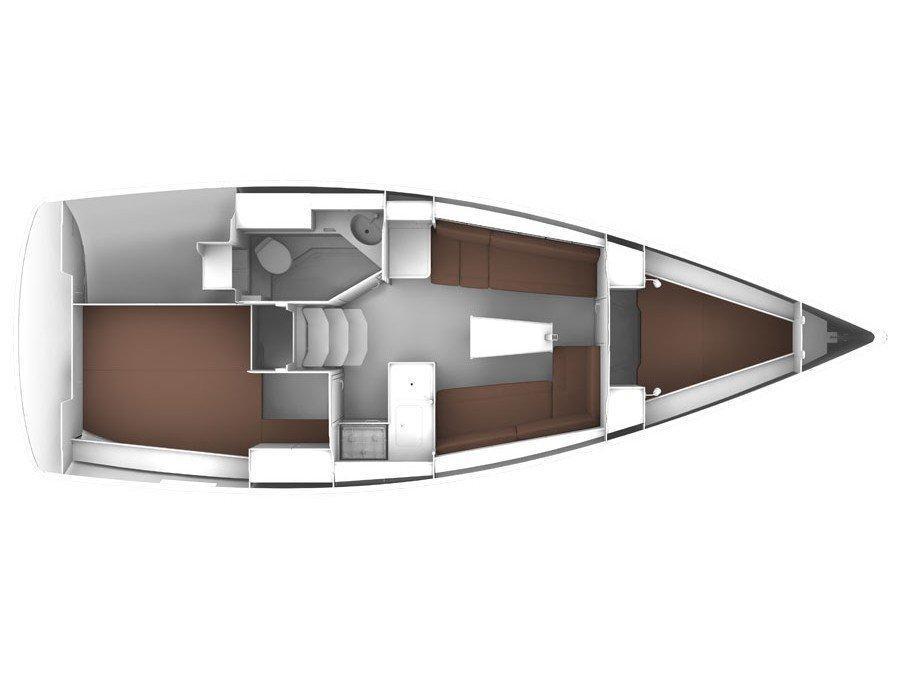 Bavaria Cruiser 33 (Driada) Plan image - 10